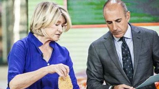 Martha Stewart Makes Back-to-School Meals