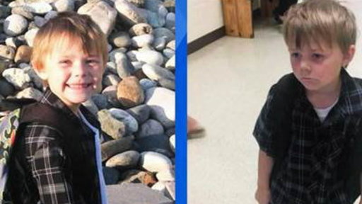 Before and After Photos Explain the Stress of School