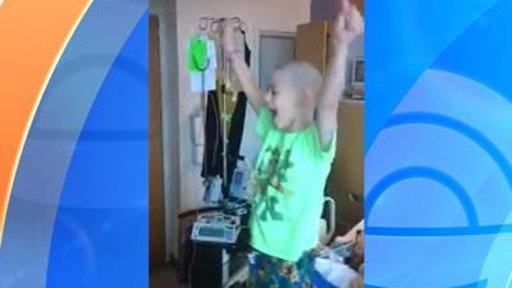 Young Cancer Patient's Reaction to Going Home Goes Viral