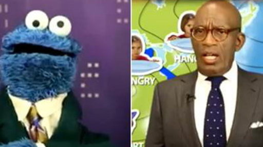 Al Argues with Cookie Monster Over How to Pronounce 'GIF'