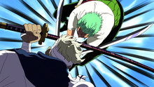One Piece 362: Slashes Dancing On the Rooftop!! Zoro vs. Ryuma's Showdown