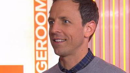 Seth Myers Explains How He Broke His Nose