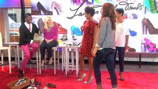 Miss J Teaches Tamron How to Walk in Sky-High Heels