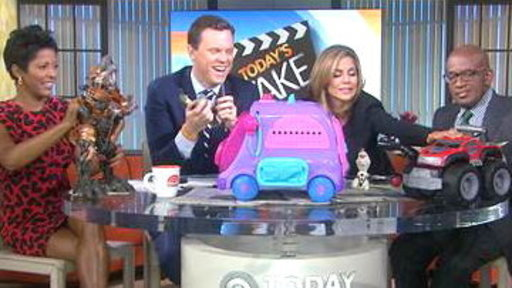 TODAY Anchors Test Toys On