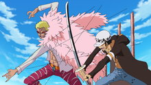One Piece 661: A Showdown Between the Warlords! Law vs. Doflamingo!