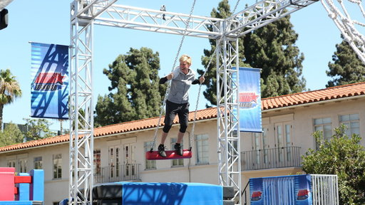 Ellen Takes On 'American Ninja Warrior'