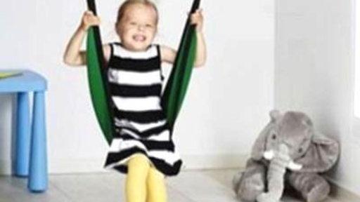 IKEA Recalls Kids' Swings Over Faulty Fittings