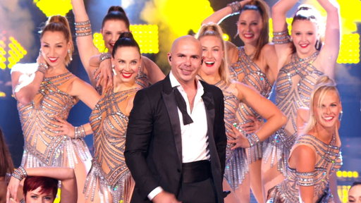 Pitbull With the Rockettes: