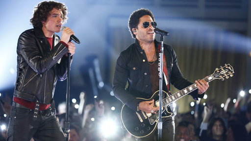 Miguel Dakota and Lenny Kravitz: