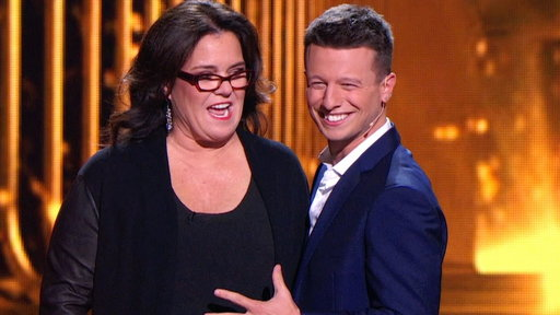 Mat Franco and Rosie O'Donnell