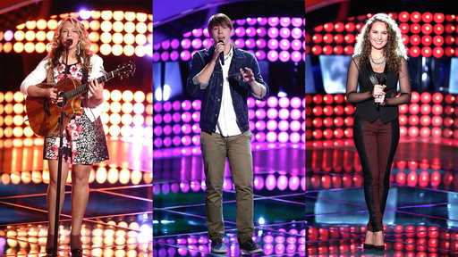 Blind Audition Montage: Alessandra Castronovo, Jordy Searcy and Kensington Moore