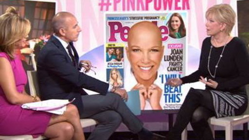 Joan Lunden Opens up About Losing Her Hair
