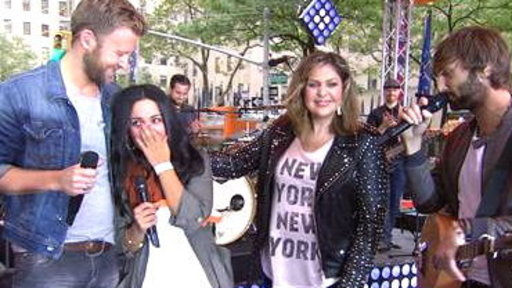 Lady Antebellum Surprises TODAY Fan With Scholarship