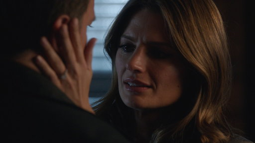 Kate Watches Castle's Goodbye Video