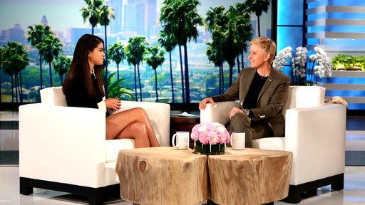 Selena Gomez Catches up With Ellen