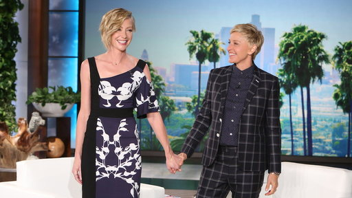 Ellen and Portia Discuss the Baby Rumors