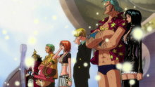 One Piece 312: Thank You, Merry! Snow Falls Over the Parting Sea!