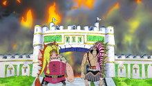 One Piece 307: Cannon Fire Sinks the Island! Franky's Lamentation!
