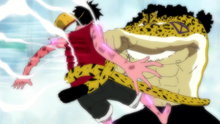 One Piece 309: Fists Full of Emotion! Luffy Unleashes Gatling With All His Might!