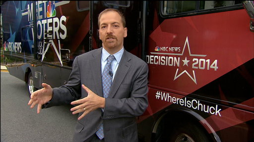 A Sneak Peak at Chuck Todd's 'Meet the Voters' Midterm Election Bus