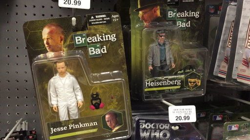 Mom Takes On Toys 'R Us for Selling 'Breaking Bad' Toys