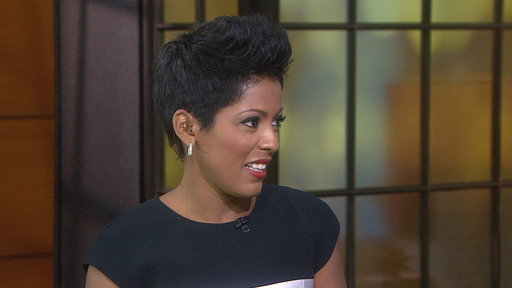 Tamron Hall Tears Muscle Screaming in Haunted House