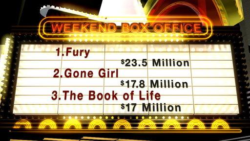 'Fury' Rakes in $23.5 Million at Box Office