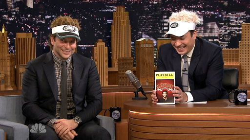 Jimmy Fallon, Bradley Cooper Can't Keep It Together