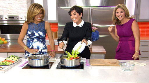 Kris Jenner Cooks Up Family Favorite Chicken Soup