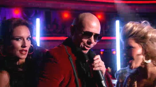 Pitbull Performs