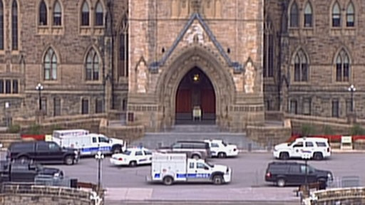 Canadian Parliament On Lockdown After Shooting