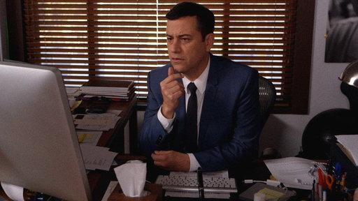 Jimmy Kimmel Loses His Favorite Fontcast