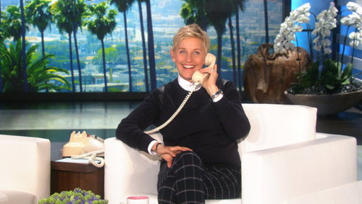 Surprise Phone Call from Ellen
