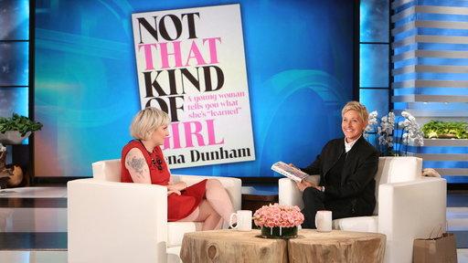 Lena Dunham On Her Book