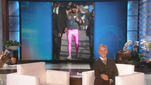 Shia Wore the Pink Pants