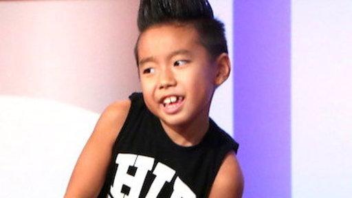 Astounding Kid Dancer Aidan Xiong