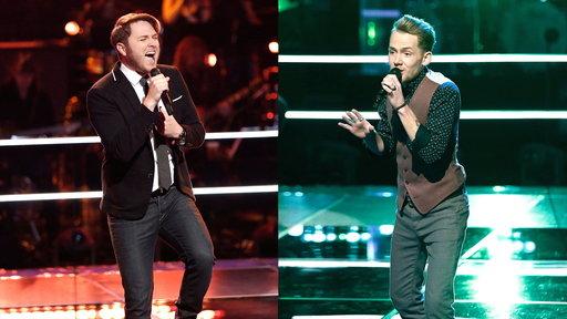 The Voice Sneak Peek: Luke Wade and Taylor Phelan