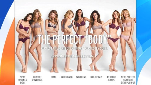 Perfect Body' Ad Sparks Victoria's Secret Backlash