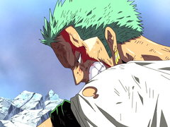 (Sub) The Pain of My Crewmates Is My Pain Zoro's Desperate Fight image