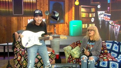 Schwing! Watch KLG, Hoda As 'Wayne's World' Hosts
