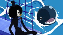 One Piece 379: Brook's Past a Sad Farewell With His Cheerful Comrade