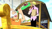 One Piece 319: Sanji's Shock! Mysterious Old Man and His Super Yummy Cooking!