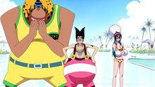 "One Piece 382: The Slow-Slow Menace ""Silver Fox"" Foxy Returns"