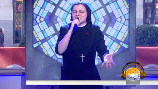 Italy's Singing Nun Performs 'Like a Virgin' On TODAY