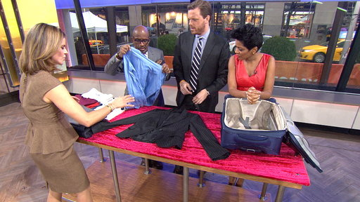 Anchors Test 'Garment Burrito' Packing Technique