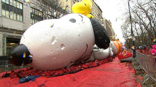 Behind the Scenes of the Macy's Thanksgiving Parade