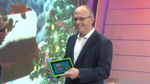 Amazon Donates 50 Tablets to TODAY Toy Drive