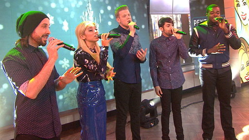 Pentatonix Performs 'That's Christmas to Me'