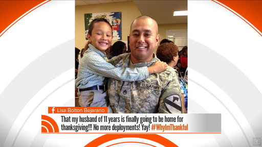 TODAY Viewers Share #WhyImThankful