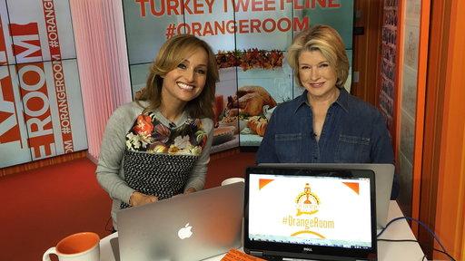 Martha Stewart, Giada Answer Turkey Questions